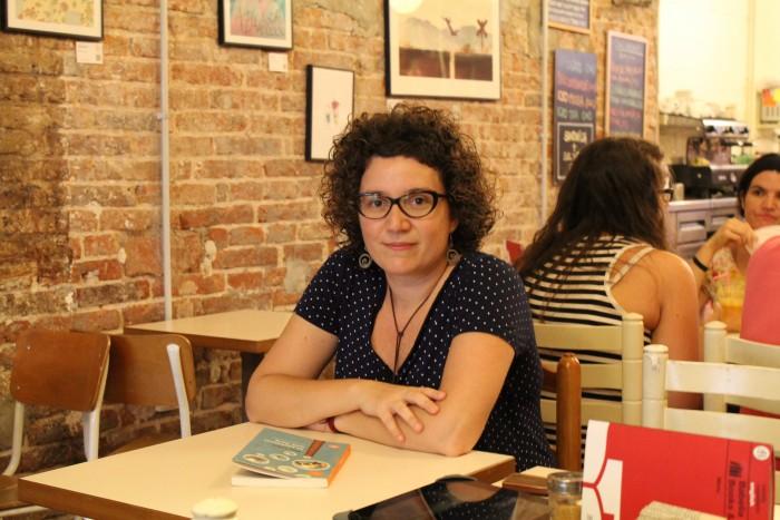 Hem conversat amb l'escriptora Tina Vallès | Foto: Laura Basagaña.