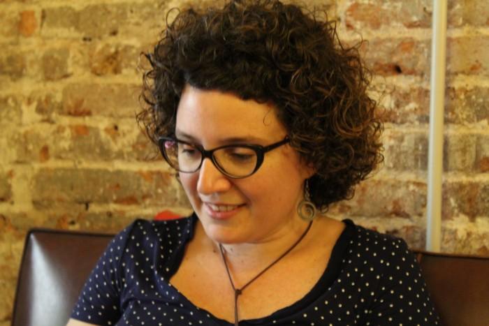 Amb el recull de contes 'El parèntesi més llarg' Tina Vallès va guanyar el Premi Mercè Rodoreda 2012 | Foto: Laura Basagaña.