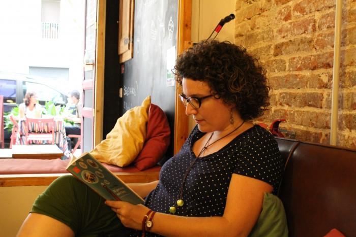 L'escriptora Tina Vallès | Foto: Laura Basagaña