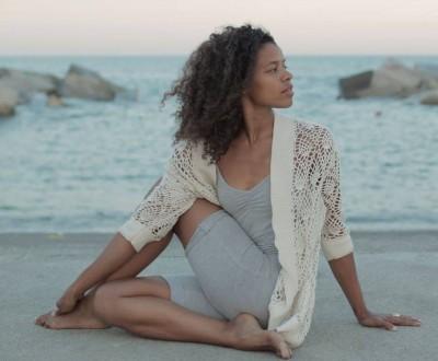 Nina Adams és professora d'Ashtanga ioga   Foto: Ninayoga.