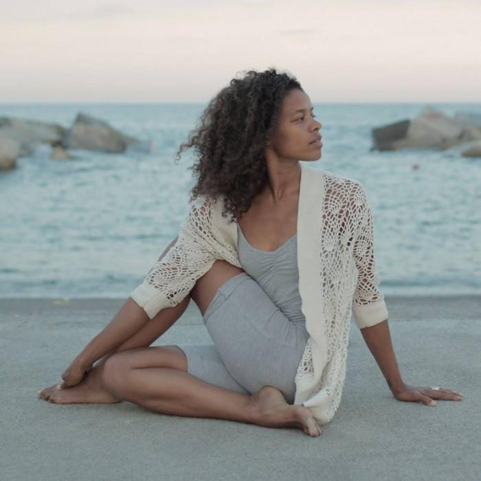 Nina Adams és professora d'Ashtanga ioga | Foto: Ninayoga.