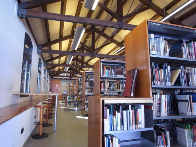 Biblioteca Vapor Badia, a Sabadell | Foto: Arxiu Biblioteca Vapor Badia.