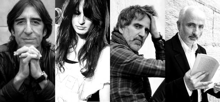 "El dia 27 tindrà lloc l'espectacle ""Poetry&Rock"" amb Benjamín Prado, Rebeca Jiménez, Jesús María Cormán& Mikel Erentxun al Festival Acròbates | Foto: Festival Acròbates."