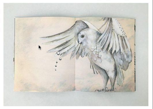 Joana Santamans il·lustra el llibre 'I et despertes', publicat per l'Editorial Comanegra | Foto: Editorial Comanegra.