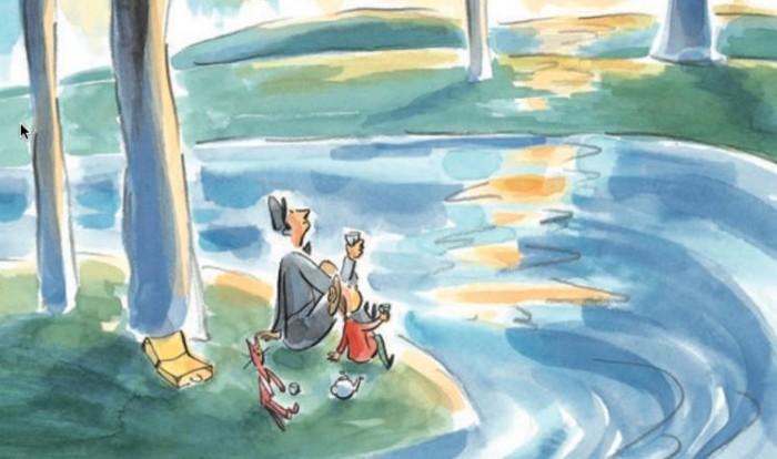 La Lola se'n va a l'Àfrica | Il·lustració d'Anne Villeneuve.