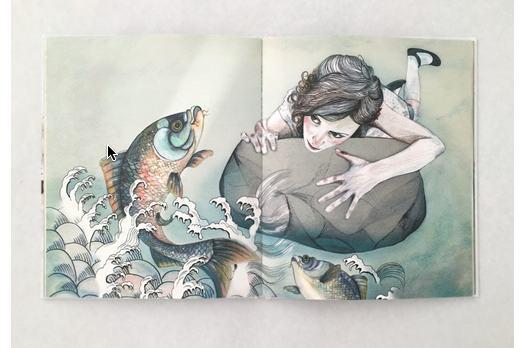 Detall del llibre 'I et despertes', il·lustrat per Joana Santamans | Foto: Editorial Comanegra.