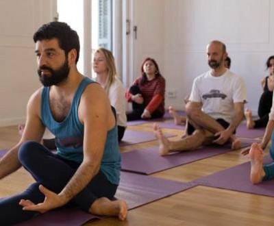 Claudio Sanmartín és professor de Yin Yoga   Foto: Arxiu particular.