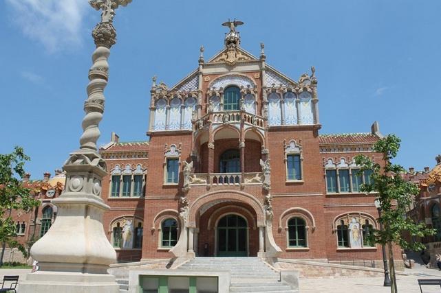 L'Hospital de Sant Pau | Foto: La Guia Viajera.