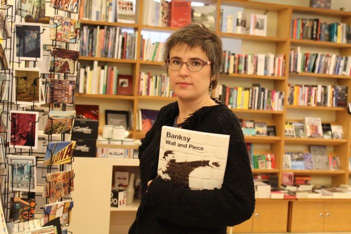 Anna Ballbona a la llibreria Laie | Foto: L.B.