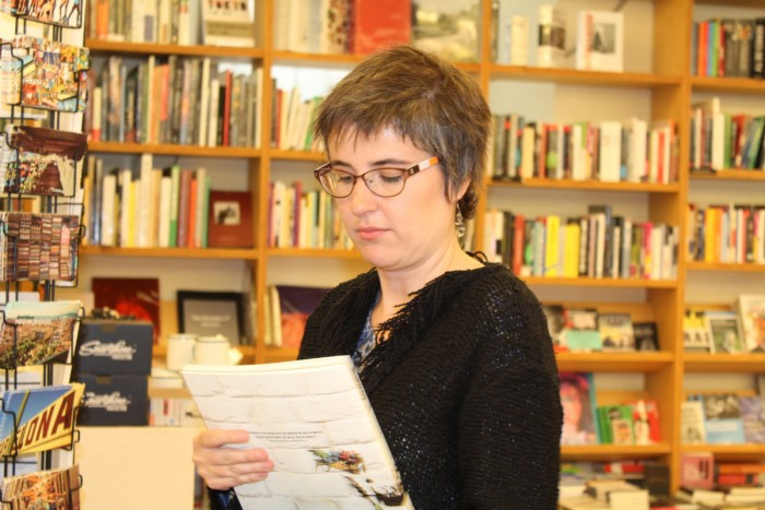 L'escriptora Anna Ballbona | Foto: L.B