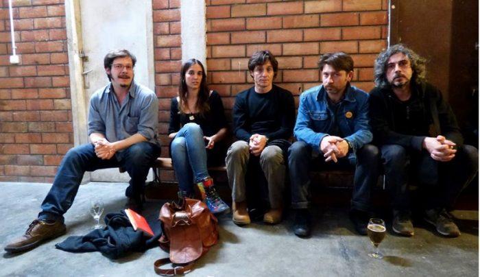 Josep Pedrals, Blanca Llum Vidal, Tomàs Arias, Andr Batonchik i David Ymbernon, a l'Horiginal | Foto: Eduard Carmona.