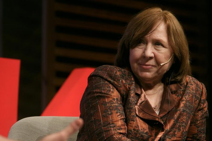 El festival Kosmopolis va convidar la Premi Nobel de Literatura Svetlana Aleksiévitx | Foto: Miquel Taverna.