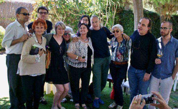 Els poetes homenatjats a la 10 Festa de la Poesia de Sitges | Foto: Carles Arola.