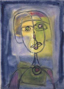 L'amor és font de patiment i dolor, en l'obra literària de Rodoreda | Pintura de Rodoreda. Imatge cedida per Vegap.