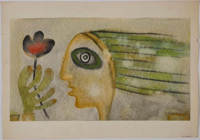 Mercè Rodoreda va compaginar l'art de l'escriptura amb la pintura | Imatge cedida per la Fundació Mercè Rodoreda.