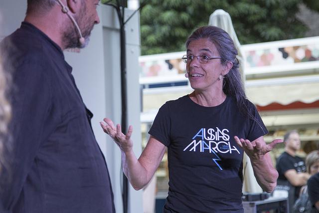 La traductora Anna Casassas a la Setmana del Llibre en Català 2016 | Foto: La Setmana 2016.