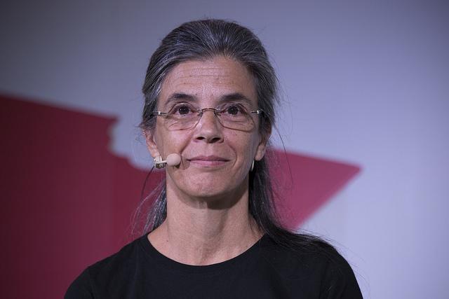 La traductora Anna Casassas | Foto: La Setmana del Llibre en Català 2016.