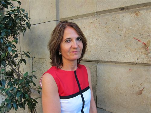 Núria Perpinyà, autora de la novel·la 'Al vertigen' | Foto: Arxiu particular.