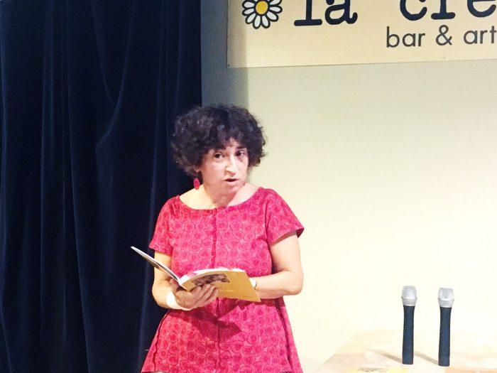 Bel Granya recita 'Mudar de pell' | Foto: Mireia Companys.